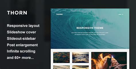slideshow themes tumblr thorn responsive grid theme by thejenyuan themeforest
