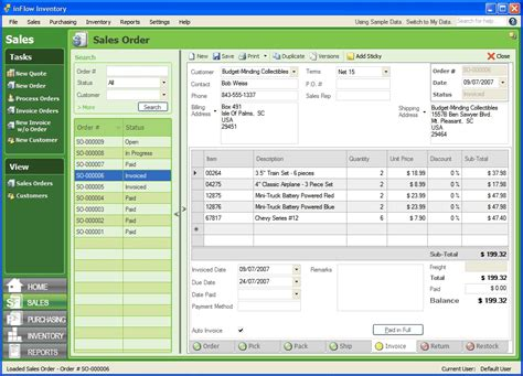 fre software inflow inventory software free edition 3 0 8 free