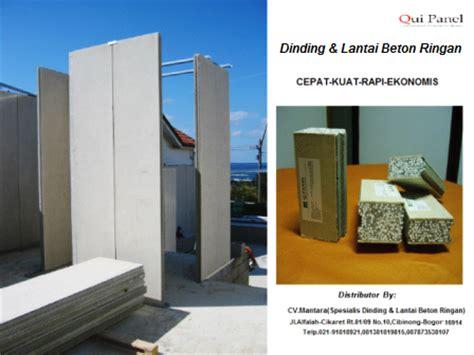 Panel Dinding Beton qui panel dinding lantai beton ringan