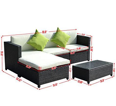furniture faraday sofa price 5pc outdoor patio sofa set sectional furniture pe wicker