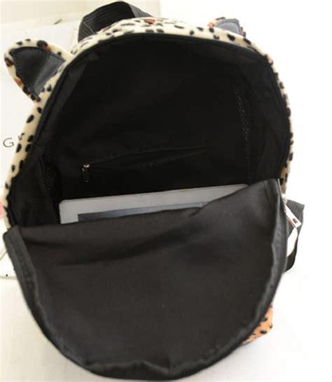 Ransel Mini Kulit Lucu Bahan Jelly tas ransel wanita leopard lucu model terbaru jual murah import kerja