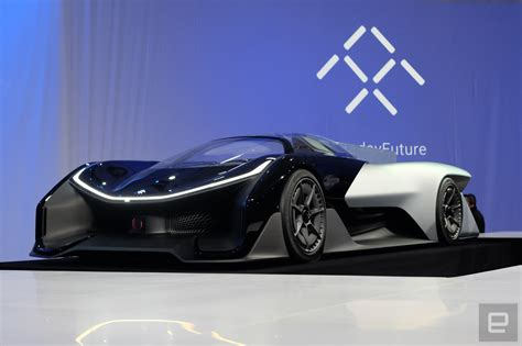 future supercar faraday future unveils its ffzero 1 supercar of the future