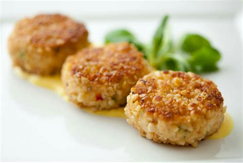 protein lentils protein packed crab and lentil cakes emerald menus