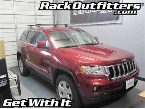 Jeep Grand 2012 Roof Rack 2012 Jeep Grand Thule Podium Square Bar Base Roof