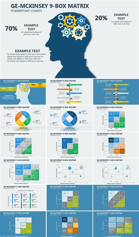 Ge Mckinsey Matrix Powerpoint Charts Templates Imaginelayout Com Mckinsey Matrix Template