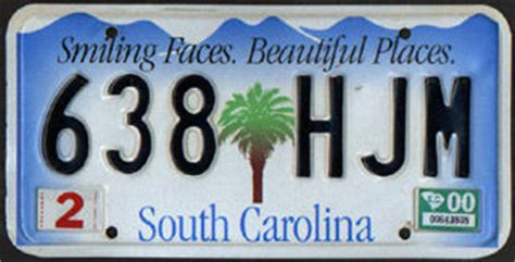 South Carolina Vanity Plates Search by South Carolina Southeastroads Page