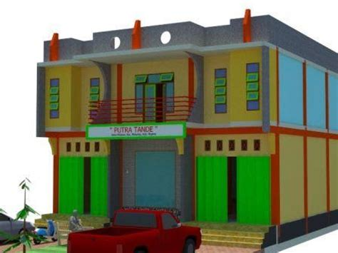 desain rumah toko inspirasi desain rumah anda desain rumah dan toko