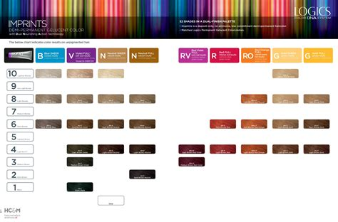 dna colors logics color dna system imprints demi permanent celucent