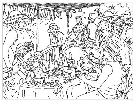 free coloring pages of famous paintings gogh