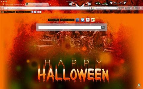 themes mozilla firefox gallery 2014 halloween browser theme for google chrome mozilla
