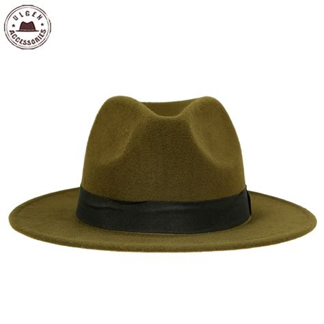 hot sale cheap unisex wool jazz hats mens fedora hat women