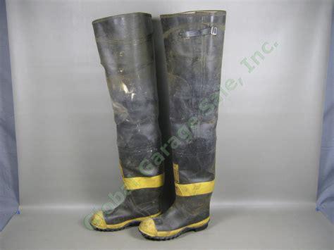 ranger firemaster firefighter 34 quot hip boots size 9 steel