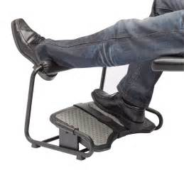 desk foot rest inzone footrest by sun flex ergocanada detailed