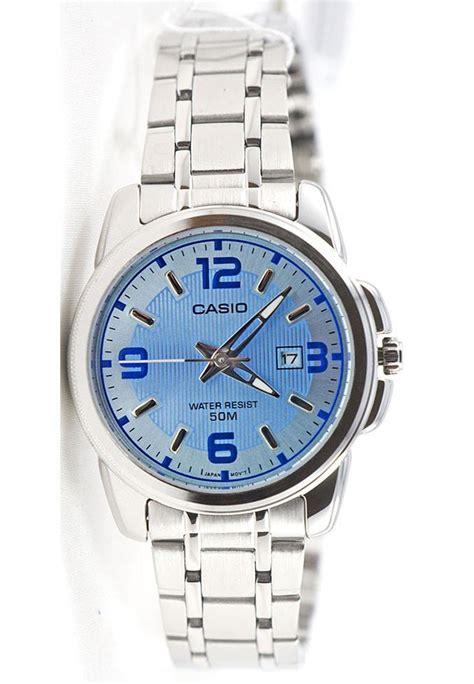 Casio Ltp 1314d 33mm casio ltp 1314d 2av steel bracelet analogue with date display w great watches