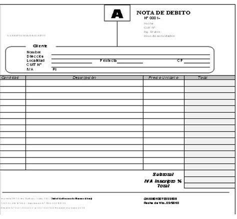 argentina que es una nota credito y debito bancaria nota de d 233 bito ort argentina cus virtual ort