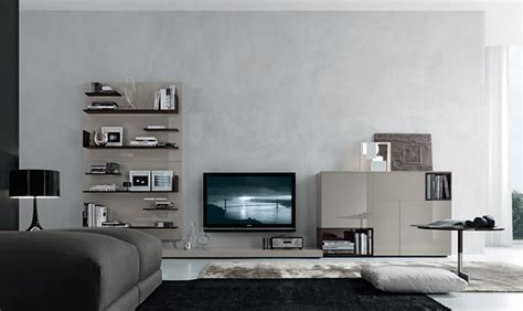modern and functional open wall system design for home