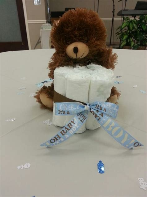 Teddy Baby Shower Centerpieces by Teddy Theme Baby Shower Centerpiece Baby Shower
