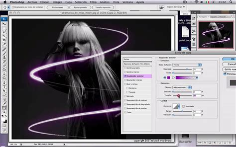 tutorial photoshop cs5 neon light beams tutorial photoshop efecto luz neon al rededor de objeto o