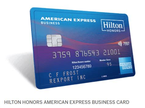 Honors American Express Business Card