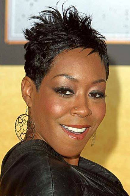 black hair dos ling in the back short in the top tichina arnold very short haircuts and short hairstyles