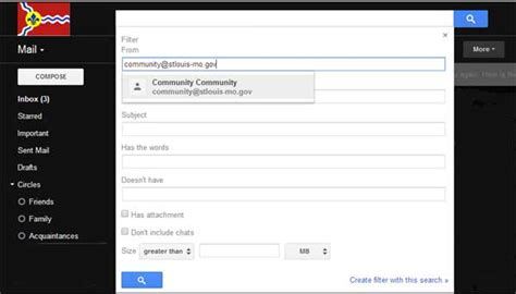 email filter online blocking mail from certain senders in gmail