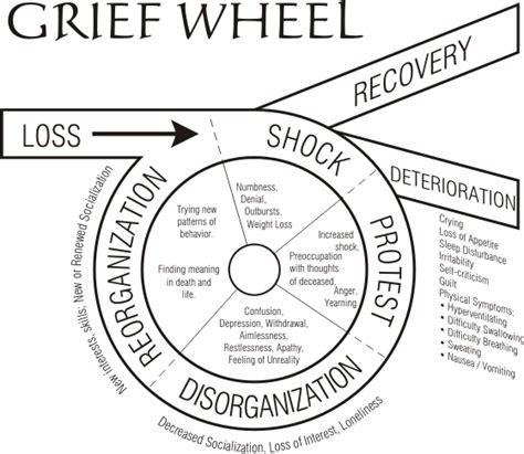 cycle of grief diagram grief the mindset effect