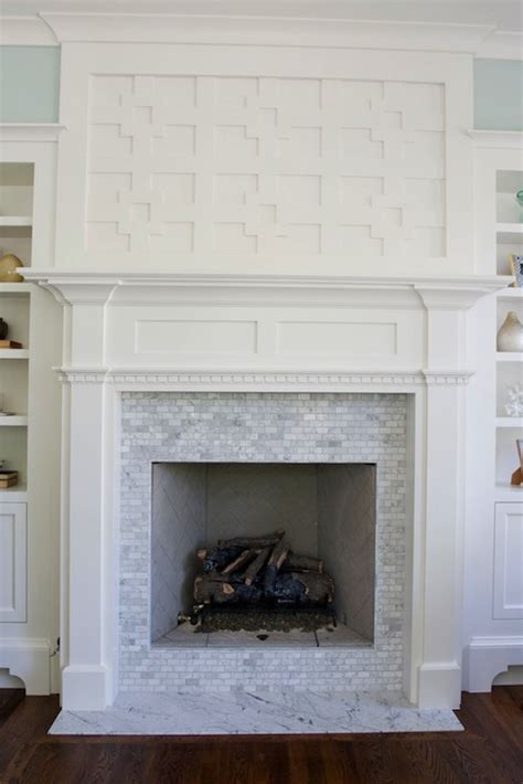 white fireplace built ins design ideas