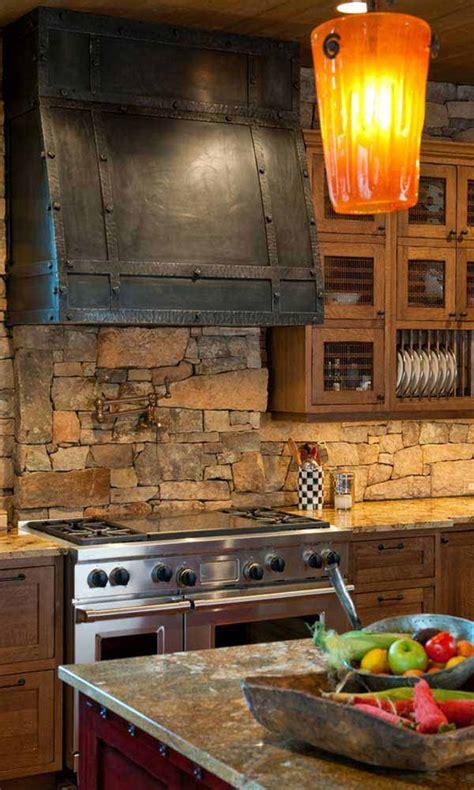 pietre per cucinare decorazioni in pietra per la cucina 20 idee stupende per