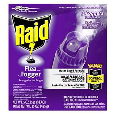 raid bed bug fogger review flea bomb reviews 6 best flea fogger bombs to kill