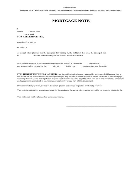 Mortgage Letter Exle Mortgage Agreement Form 19 Free Templates In Pdf Word Excel