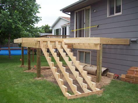 how to build stairs how to part 6 nexgen decking