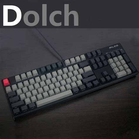 Dijamin Goodgame Keycaps 104 Grey cool jazz black gray mixed dolch thick pbt 104 87 68 61