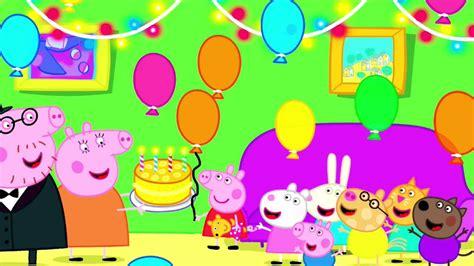 carteles de cumpleaos de pepapig peppa pig canta feliz cumplea 241 os en espa 241 ol youtube