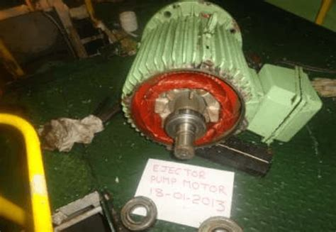 induction motor overhauling procedure how to overhaul motors on ships