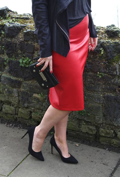 how to style leather skirt uk fashion style