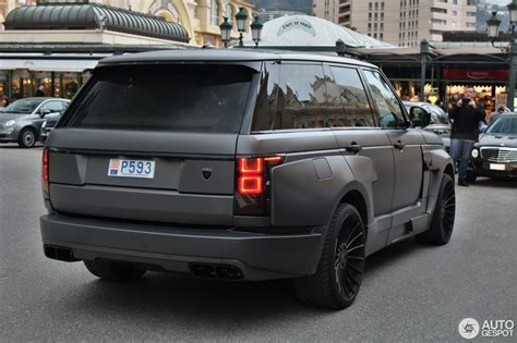 land rover hamann land rover hamann range rover myst 232 re 31 march 2016