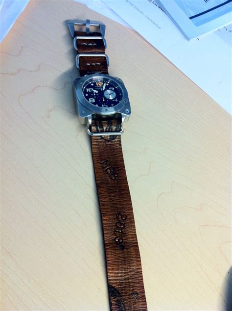 Handmade Leather Nato - 1000 images about straps i made on