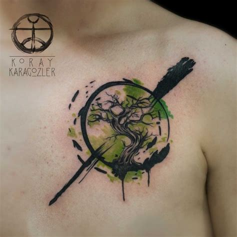 watercolor chest tattoo ideas 34 watercolor tree designs amazing ideas