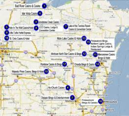 wisconsin indian casino directory
