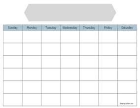 Blank Calendar To Print Blank Calendar To Print Keeping Sane