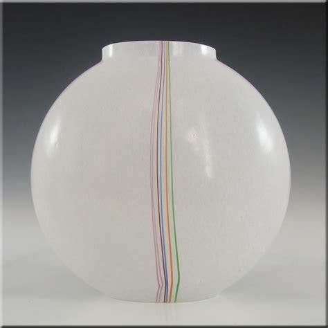 kosta vase kosta boda glass rainbow vase signed bertil vallien