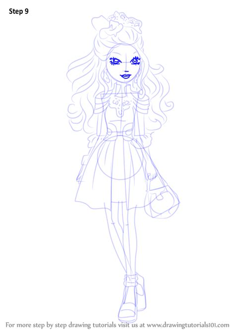 ever after high coloring pages darling charming learn how to draw darling charming from ever after high