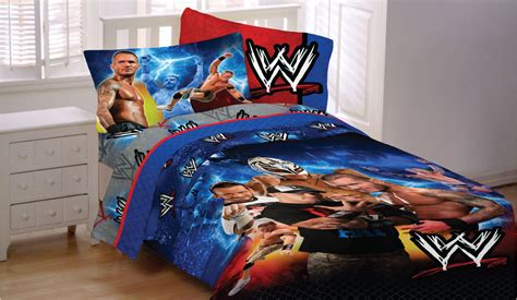 wrestling chions full bed sheet set 4pc wwe john cena