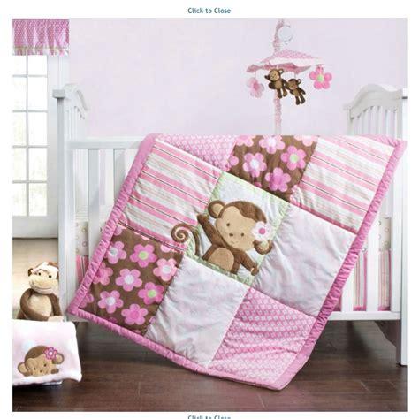 Girl Monkey Bedding Set Baby Nersery Ideas Pinterest Baby Monkey Bedding