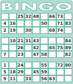 bingo credit card template free printable number bingo card generator