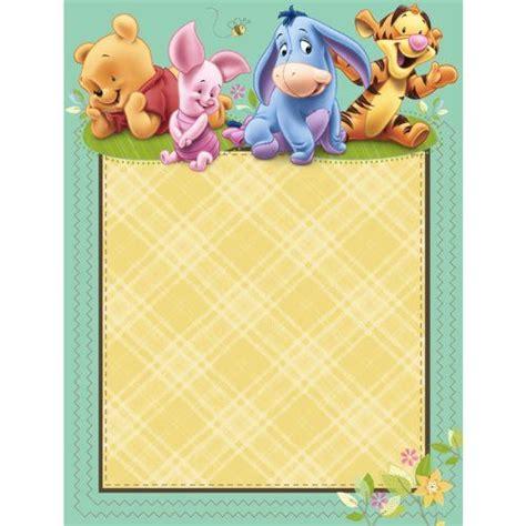 imagenes de winnie pooh para celular gratis invitaciones de winnie the pooh beb 233 para imprimir gratis