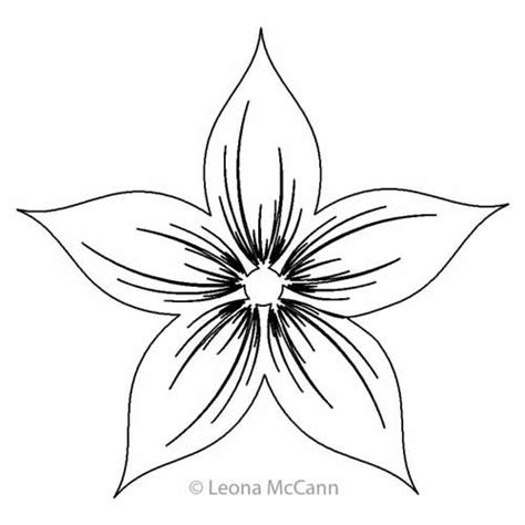 Motif Flower aoife s flower motif leona mccann digitized quilting