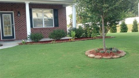 landscaping ideas for front yard ranch house with a front