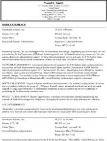 Best Resume Format Usa by Federal Resume Example Berathen Com