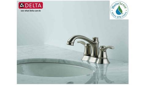 Delta Nura Shower by Nura Two Handle Centerset Lavatory Faucet